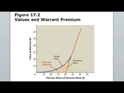 Chapter 17 Part Two Options & Warrants
