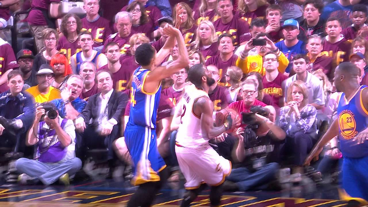 56bfdb20617c Kyrie Irving and Stephen Curry Duel it out in Game 4 of The NBA Finals -  YouTube