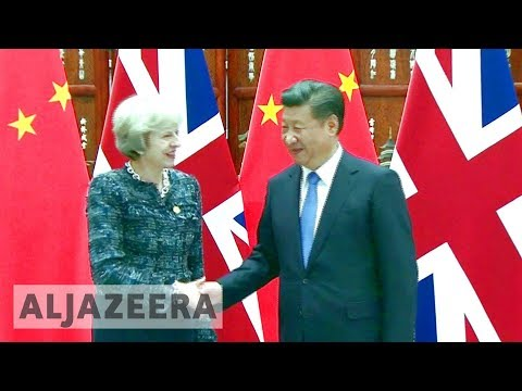 🇬🇧 🇨🇳 UK seeks to boost trade with China