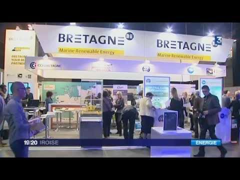 Brest: les energies marines renouvelables