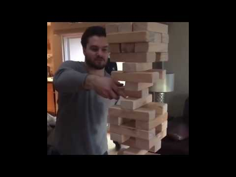 This is the BEST JENGA MOVE ever