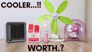 Portable AC /Fan/ Cooler | Budget Cooler Ac | Summer Gadgets | Tech Unboxing 🔥