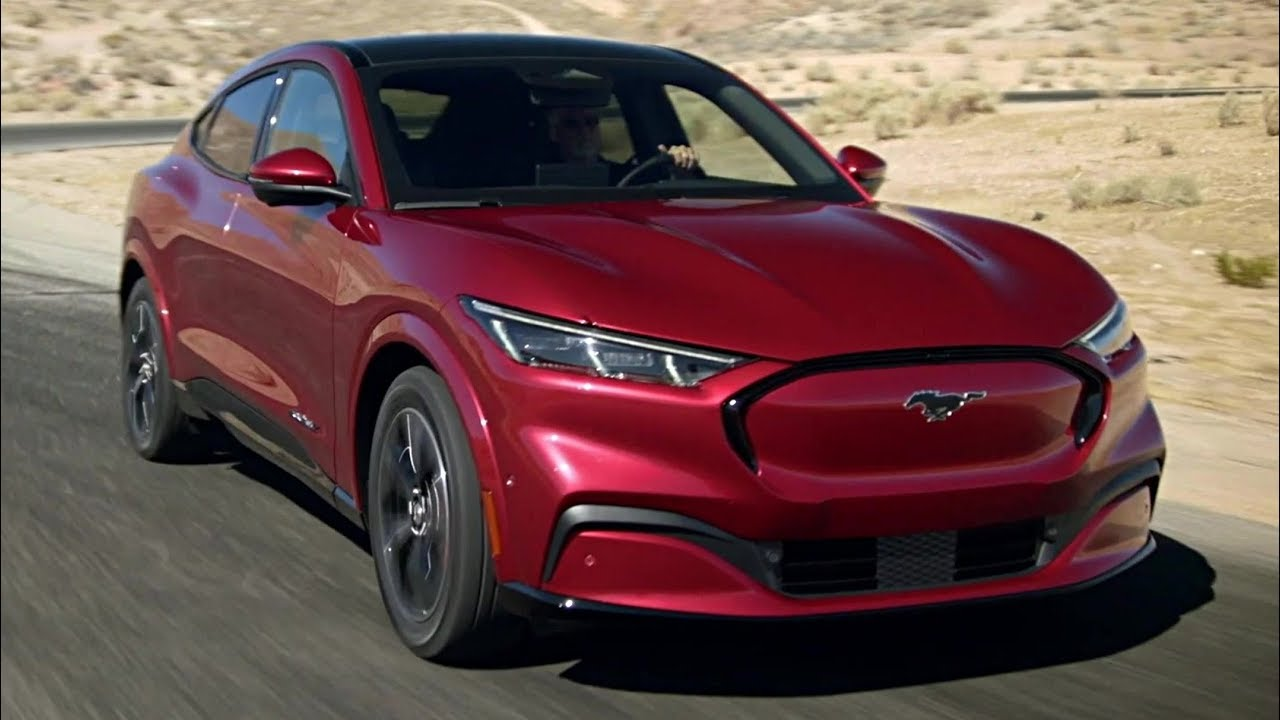 2020 ford mustang mache allelectric suv new look  youtube