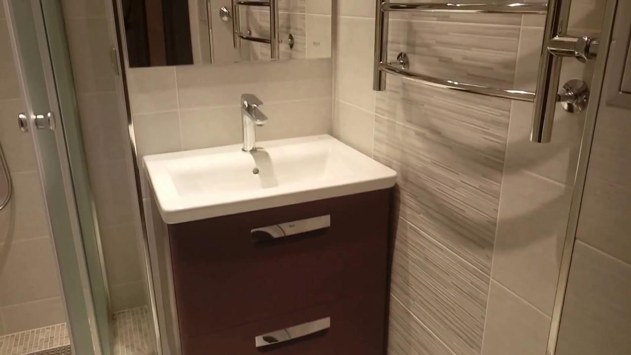 дизайн ванной комнаты с душевой кабиной фото 2