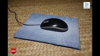 How to make a Mouse Pad with Jeans and Cardboard I PS Homemade Projects