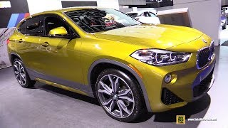 2019 BMW X2 xDrive 28i M-Sport - Exterior and Interior Walkaround - 2018 Montreal Auto Show