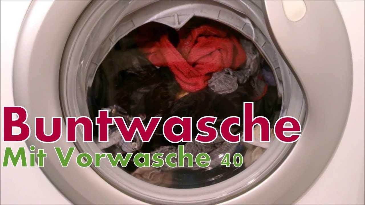 candy waschmaschine buntw sche 40 c mit vorw sche youtube. Black Bedroom Furniture Sets. Home Design Ideas