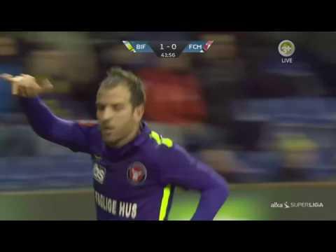 Rafael van der Vaart Goal for FC Midtjylland vs Brøndby 11-12-2016
