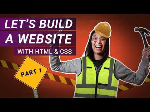 Build A Responsive Website From Scratch With HTML & CSS | Part 1: Navigation Bar