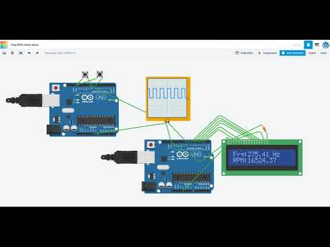 Simple Arduino frequency generator/meter demo