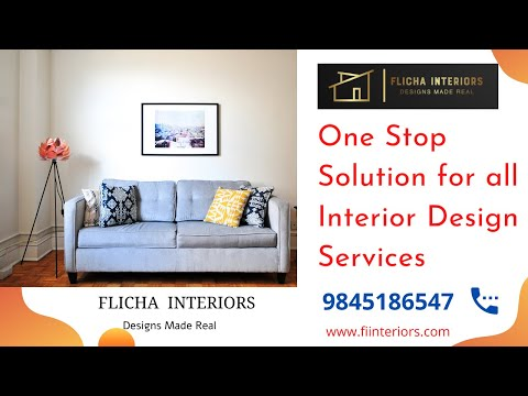 Home Is Heaven Make That Heaven Comfortable With The Best Interiors Flicha Interiors Bangalore Youtube