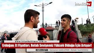 Erdoğan: Et Fiyatları, Refah Seviyemiz Yüksek Olduğu İçin Artıyor!
