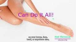 Best Laser Hair Removal - Naples FL 239-235-3706