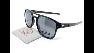 88c7b8bad Oakley Latch Beta OO9436 0554 54 Preto Semi-Espelhado Polarizado 0:57.  Óculos de Sol ...