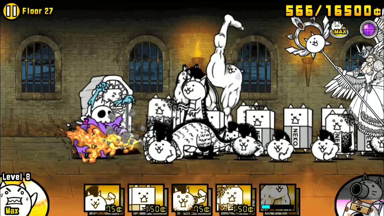Battle Cats 6 2   Heavenly Tower Floor 29