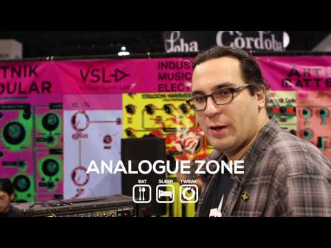 NAMM2017: Introducing Industrial Music Electronics Argos Bleak and Bionic Lester mk2 and Contempt