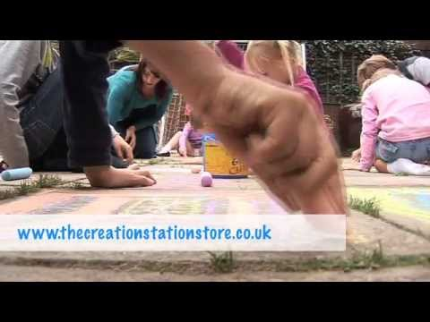 The Creation Station Funky Door Hangers Arts and Crafts Kit