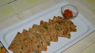 Gobi (Cauliflower) Paratha by chef Shaheen
