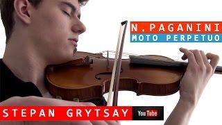 Niccolo Paganini - Moto Perpetuo, Op.11 - Violin and Piano