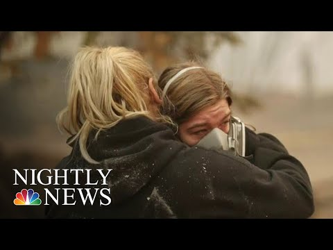 More Than 600 Missing In Northern California Wildfire | NBC Nightly News