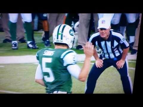 Matt Simms Salsa Celebration Victor Cruz Diss