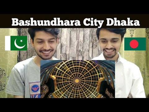 Pakistani Boys React to Bashundhara City Dhaka Bangladesh 🇧🇩