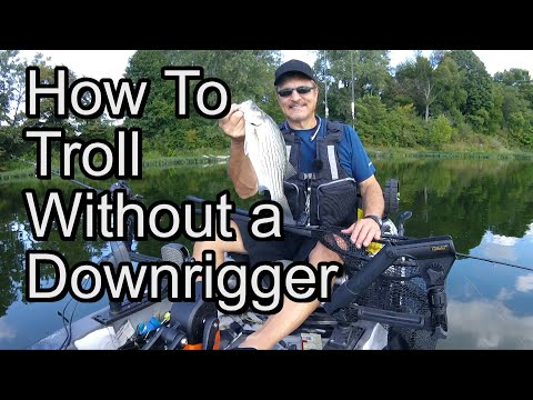 How To Troll Without A Downrigger (Torpedo Divers)