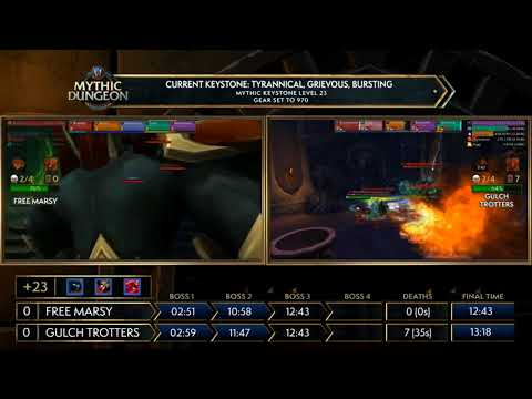 Asia-Pacific! MDI Mythic Dungeon Tournament 2018! Free Marsy vs Gulch Trotters
