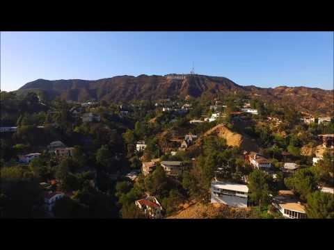 Hollywood Hills and Hollywood sign