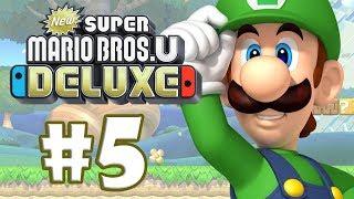 NEW SUPER MARIO BROS DELUXE #5 - LUIGI PARA PRESIDENTE!