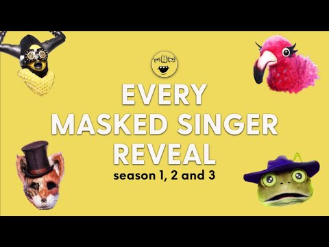 Every Masked Singer Reveal (Season 1, 2 and 3)