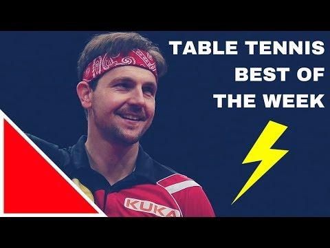 TABLE TENNIS BEST OF THE WEEK #01