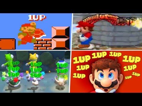 Evolution of Infinite Lives Trick in Super Mario Games (1985 - 2019)