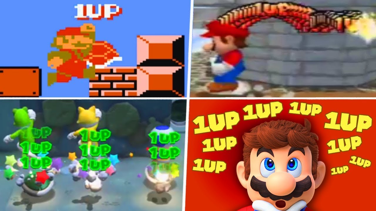 Evolution of Infinite Lives Trick in Super Mario Games (1985 - 2019)