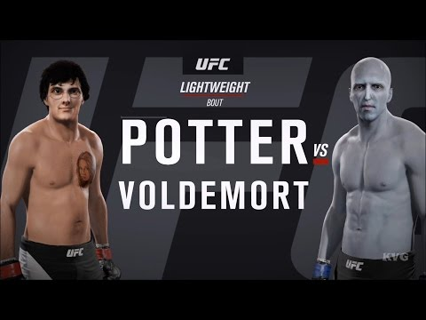EA Sports UFC 2 - HARRY POTTER vs VOLDEMORT | Gameplay (HD) [1080p60FPS]