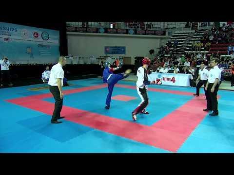 Roman Brundl V Riccardo Albanese WAKO World Championships 2019