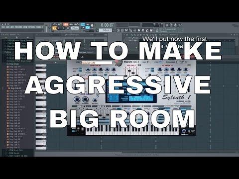 How to make aggressive Big Room Drop
