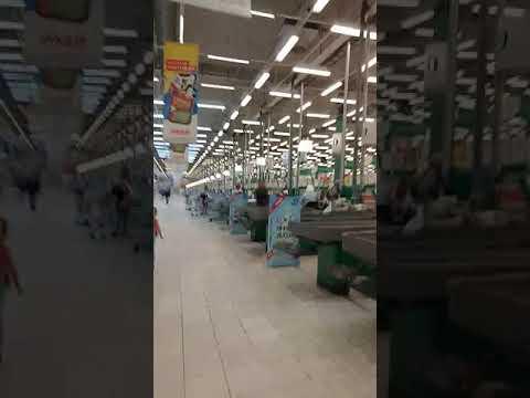 Санкт-Петербург гипермаркет Окей на ладожской