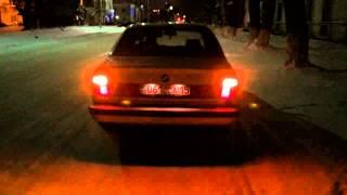 BMW e34 m40b18 exhaust sound/ звук выхлопа
