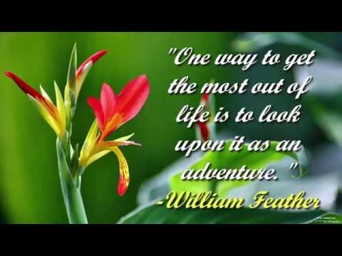 Inspirational quotes ♥ Motivational quotes☼ Beautiful flowers photos ♪ Relaxing Music! [Part 3]
