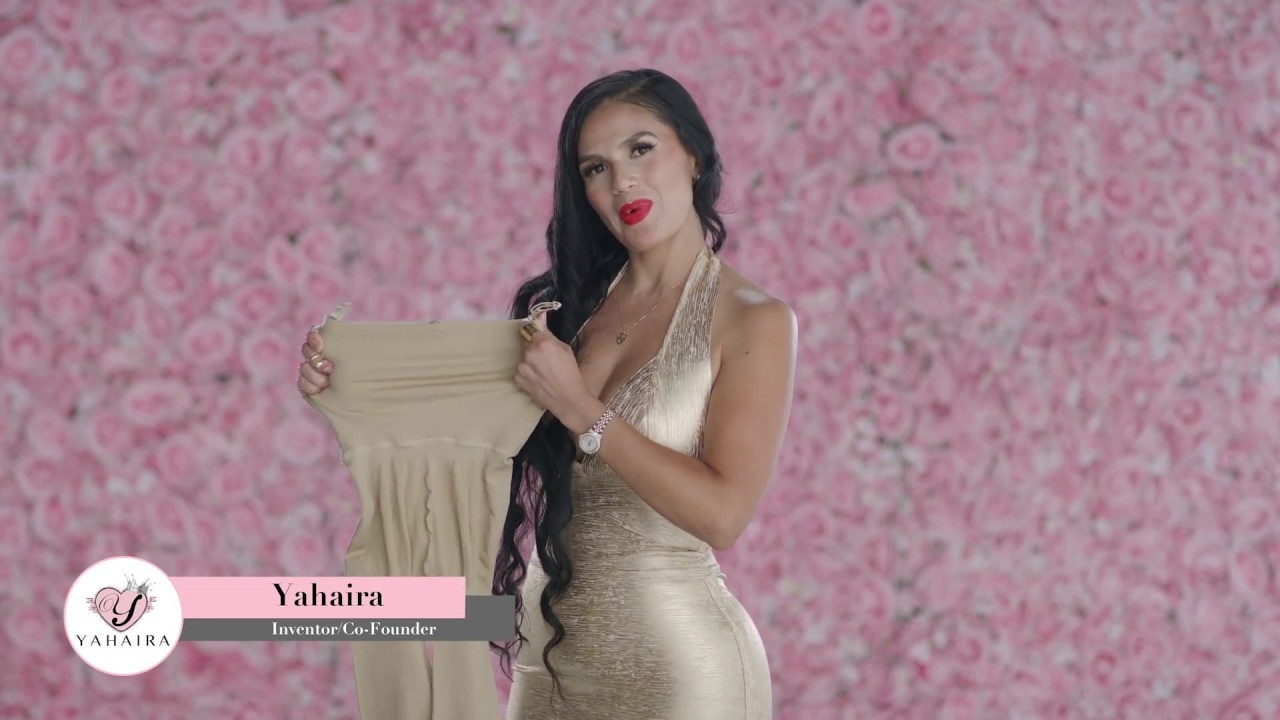 Yahaira Inventor of Happy Butt No.7 body shapers story.