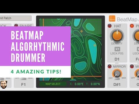 BeatMap Algorhythmic Drummer Tips - New Features in Reason 11.2 Update