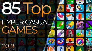 Top 85 Hyper Casual Games 2019 - Best Hyper-Casual Games