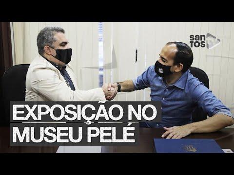 SANTOS FC E PREFEITURA – EXPOSIÇÃO NO MUSEU PELÉ