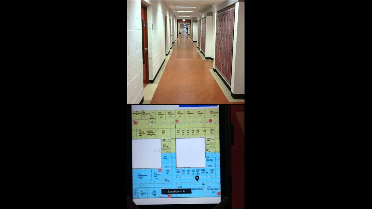 LoK8me - Indoor Location - Android using WiFi Trilateration Technology  Project 2015