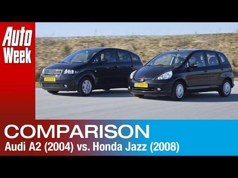 Occasion Dubbeltest - Honda Jazz (2008) vs Audi A2 (2004)
