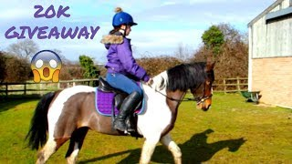 Getting Bucked Off + 20K GIVEAWAY !