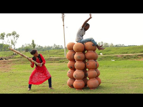 Top New Funny Video 2020_Comedy Videos 2020_Try To Not Laugh_Episode - 130_By My Family