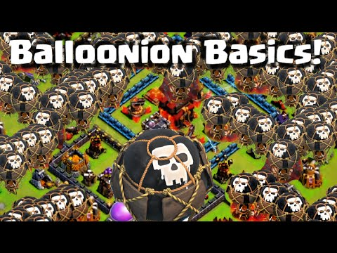 Clash of Clans Attack Strategy - Balloonion Basics! Episode 144