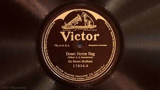 Down Home Rag • Six Brown Brothers (Victrola Credenza)